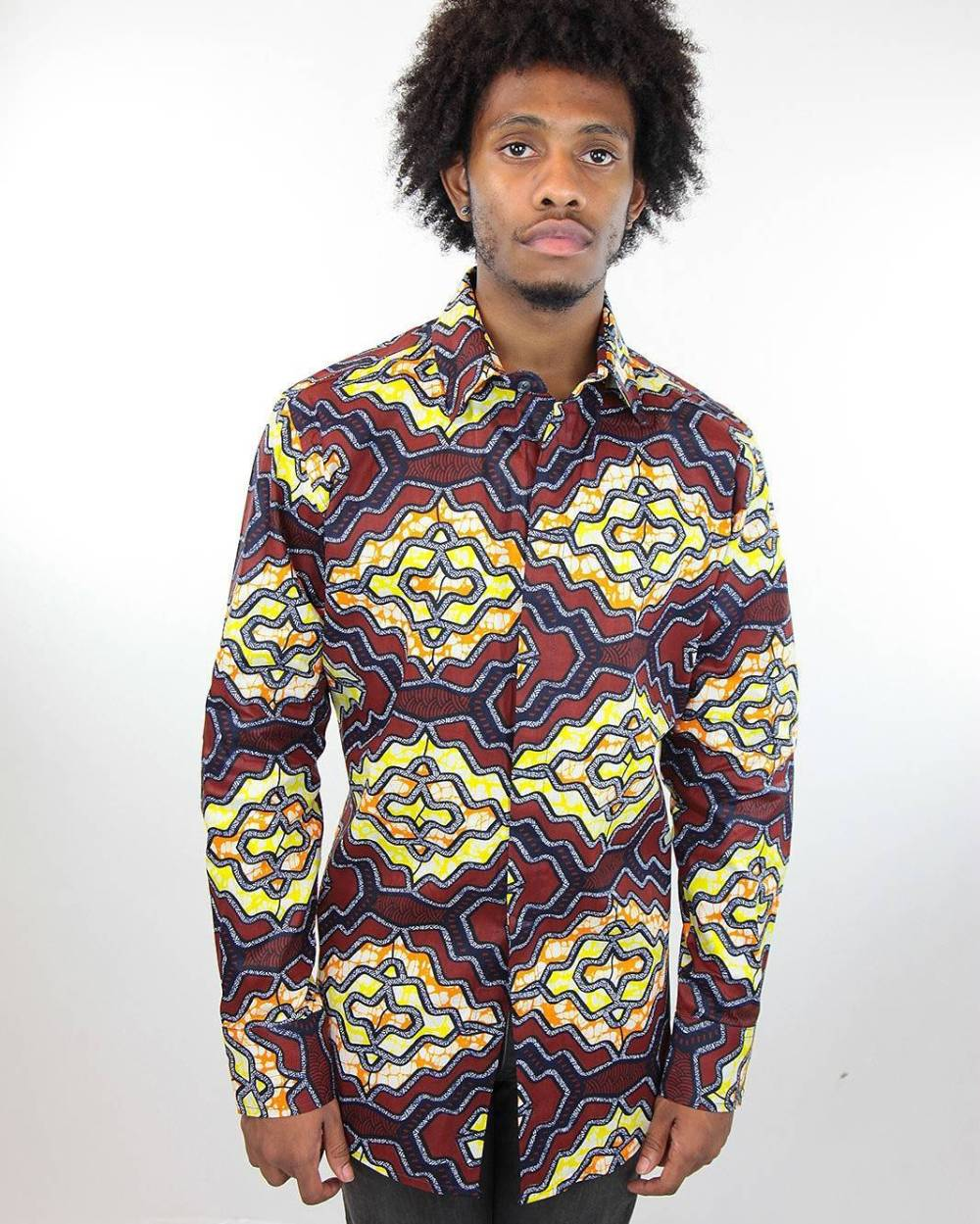 24 Male Ankara Shirt Designs that are Ruling 2018