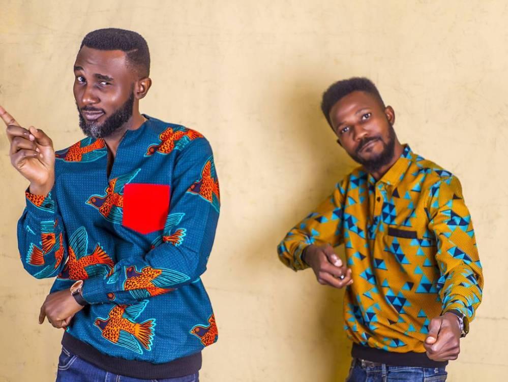 male ankara shirt design