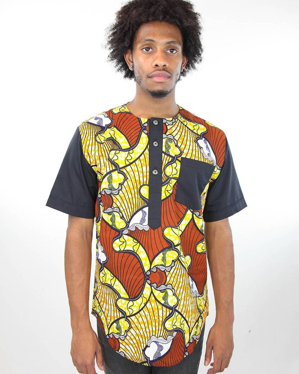 24 Male Ankara Shirt Designs that are Ruling 2018