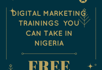 free digital marketing trainings in Nigeria