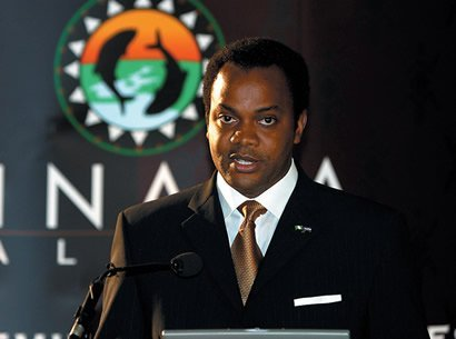 Donald Duke in suit