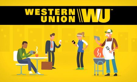 Sending and recieving money via Western Union Money Transfer