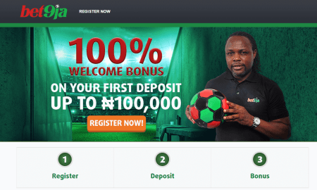 Top 10 Bet9ja website