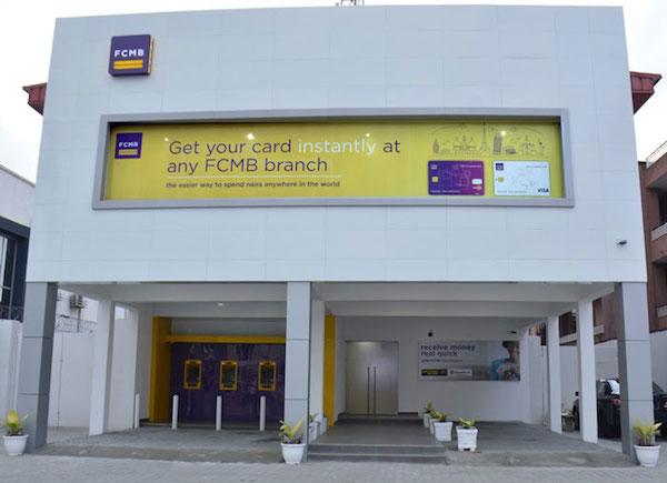 FCMB bank building
