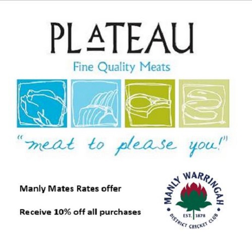 Plateau Quality Meats Manly Mates Rates 2016-17