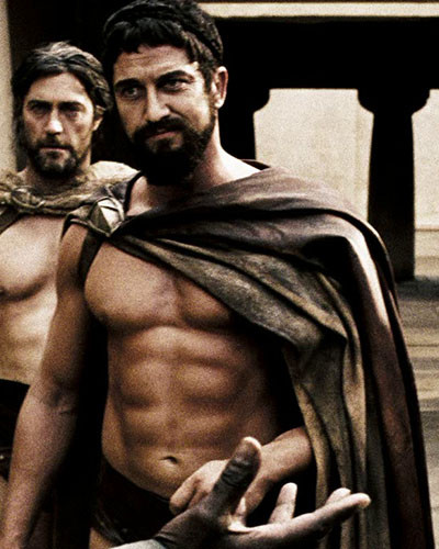 The Gerard Butler 300 workout - The Manly Men blog