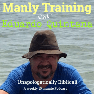 Think Like a Man. The cover for Manly Training Ministries