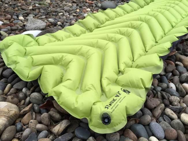 klymit static v2 cushion design