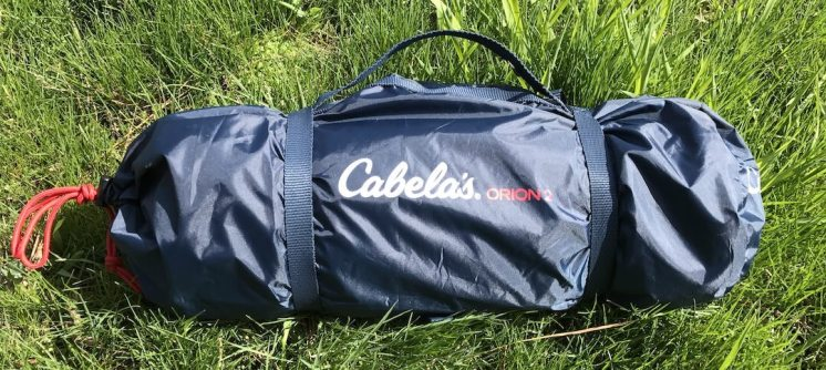 This is an image of the Cabela's Orion 2 stow bag.