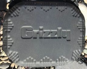 This photo shows the Grizzly Drifter 20 shows the top of the cooler.