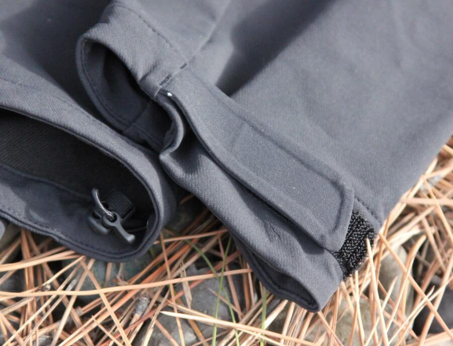 This review photo shows the REI Co-op Activator Soft-Shell Jacket sleeve cuff.