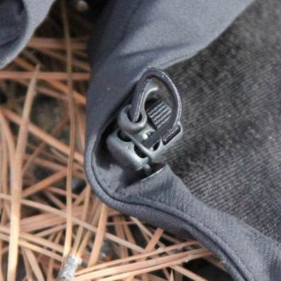 This review photo shows the REI Co-op Activator Soft-Shell Jacket drawcord hem.