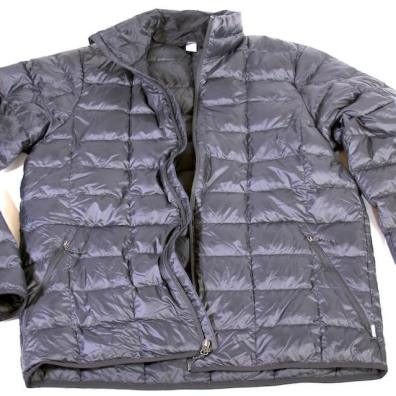 This photo shows the entire men's REI Co-op 650 Down Jacket 2.0.
