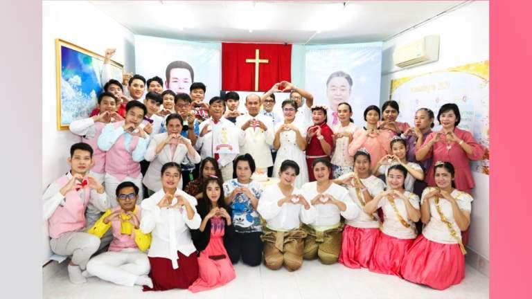 बैंकॉक मानमिन डेफ चर्च, थाईलैंड की तीसरी सालगिरह समारोह और आयोजन