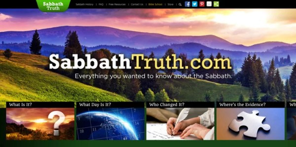 Announcing the NEW SabbathTruth.com! | News | Amazing Facts