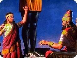 14. Daniel in ma-ang leh a khiatna teltakin agen khitciangin Nebuchadnezzar in Pasian tungah bang gen hiam?
