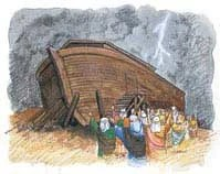 God warned the people in Noah's day that His Holy Spirit would not keep pleading with them forever; nor will it today.