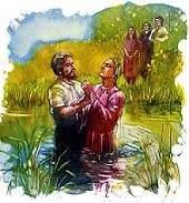 El bautismo es como una ceremonia matrimonial que me une con Cristo.
