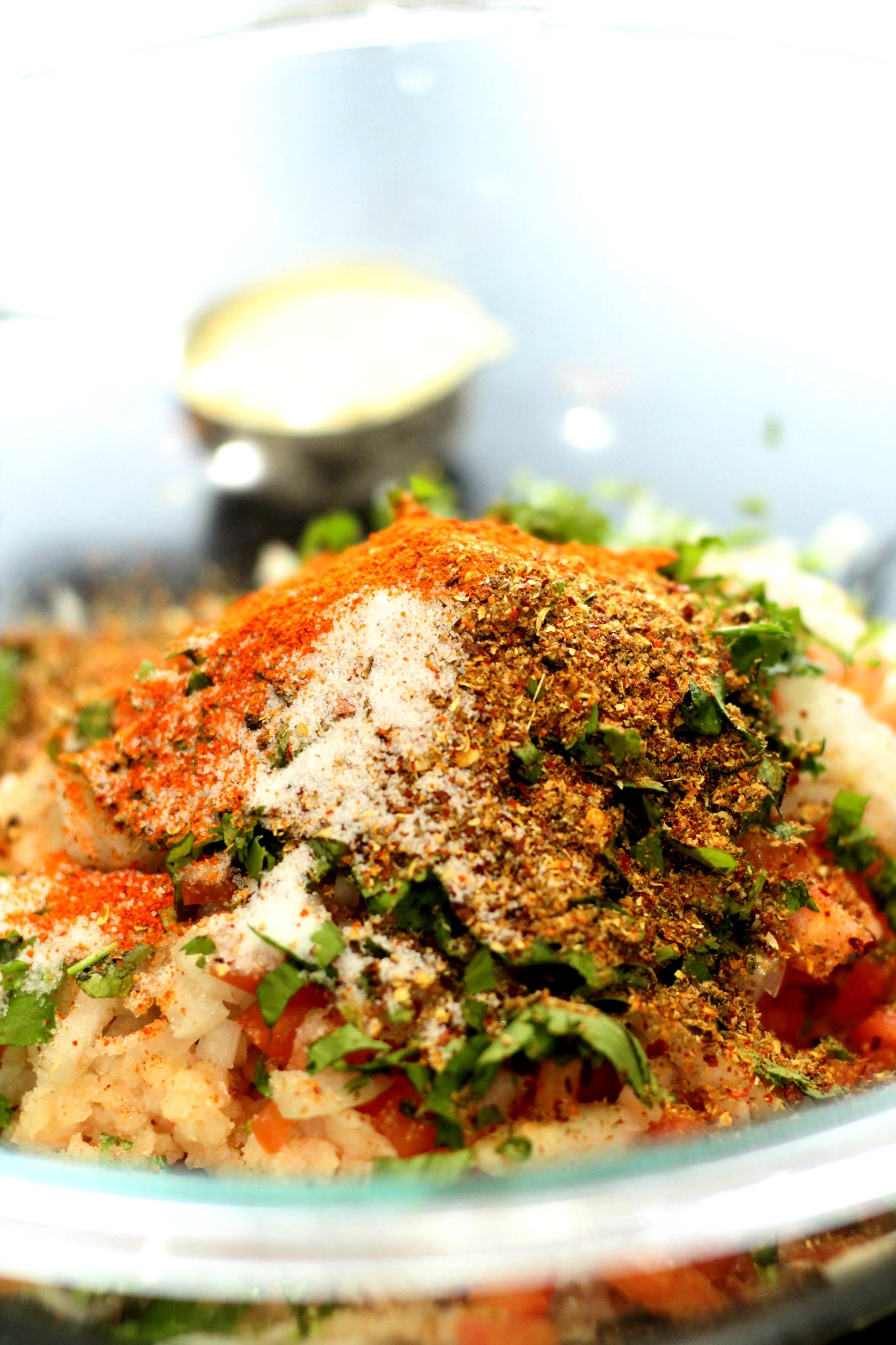 chicken chapli kabab|www.mannandspice.com