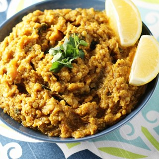 Butternut Squash and Red Lentil Currywww.mannaandspice.com