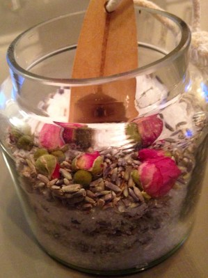 Lavender and Rose Bud Bath - Stress Management Tips