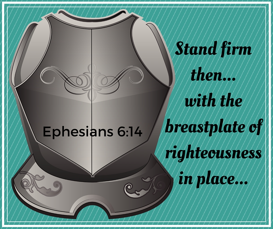 Armor of God Breastplate of Righteousness