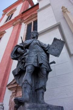 Big Statue Basilika Mariazell, Austria