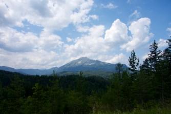 Big mountain - Ötscher, south-western Lower Austria
