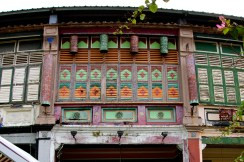 Old townhouse windows, Penang