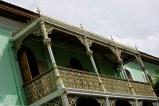 UP Balcony, Pinang Peranakan Mansion, Georgetown, Penang, Malaysia