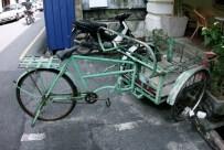 Turquoise bike, Penang