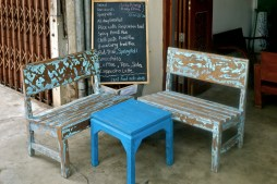 Mint benches, Phuket Town