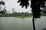 Turtle Tower @ Hoan Kiem Lake