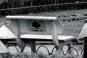 Another bench in Hanoi