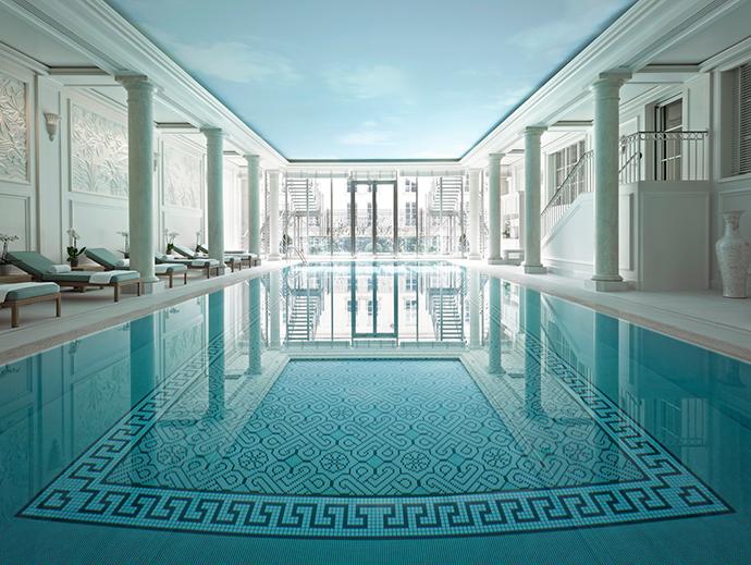 5 Indoor pools in Paris. More on mannaparis.com