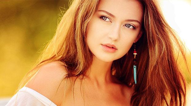 Hübsche junge Dame