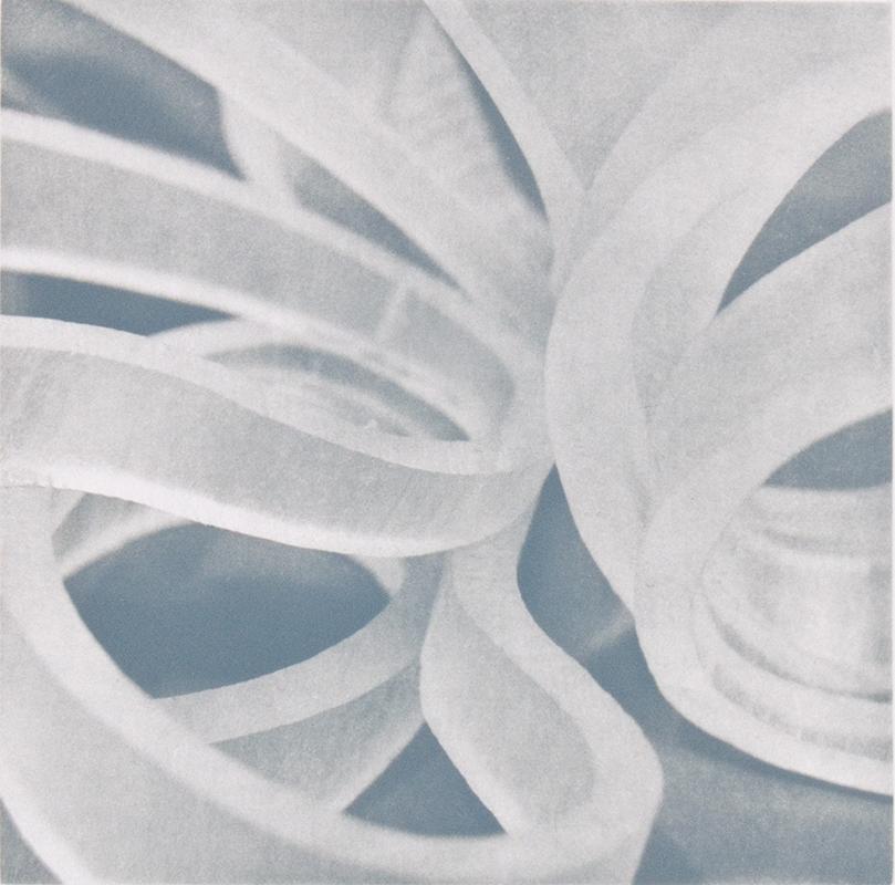 "Joan Winter: ""Counterpoint 2"", 2008. Photogravure, edition of 10."