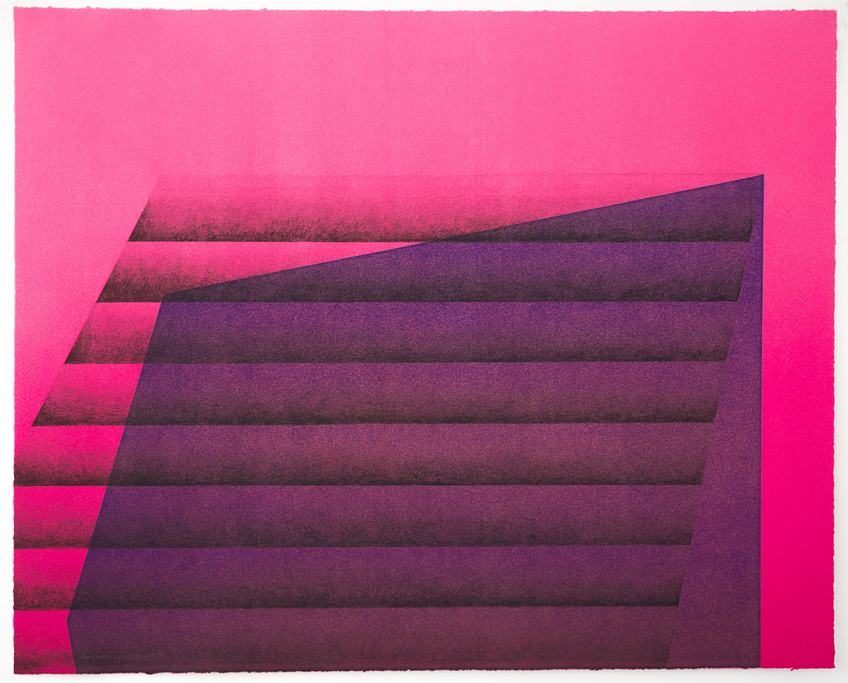 Kate Petley,Manneken Press,monoprint, unique print,gradient