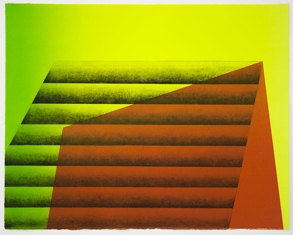 Kate Petley,Manneken Press,monoprint, unique print,gradient