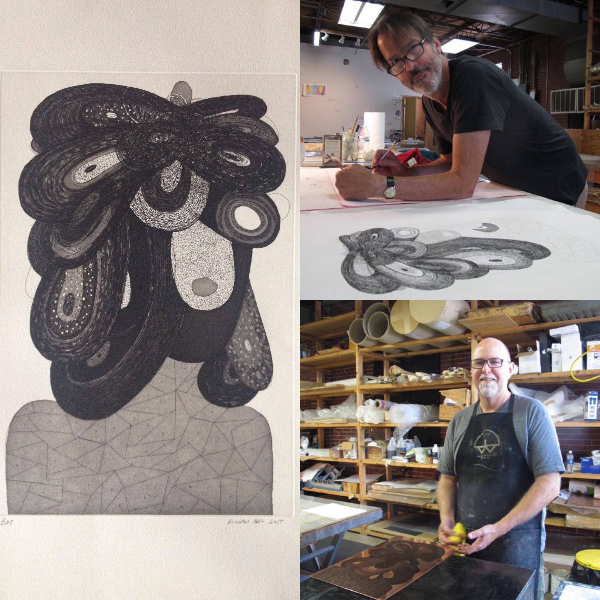 Richard Hull, Manneken Press, work in progress