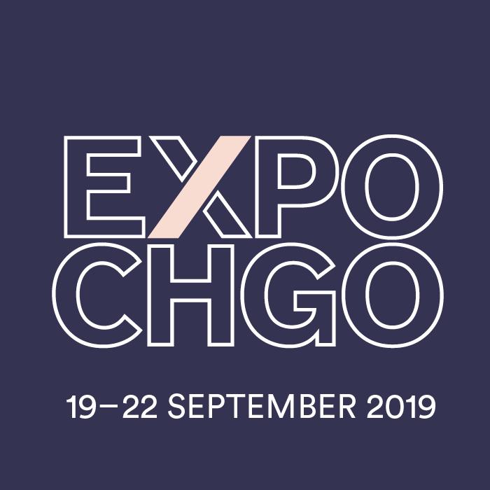 Expo Chicago logo, dark, large