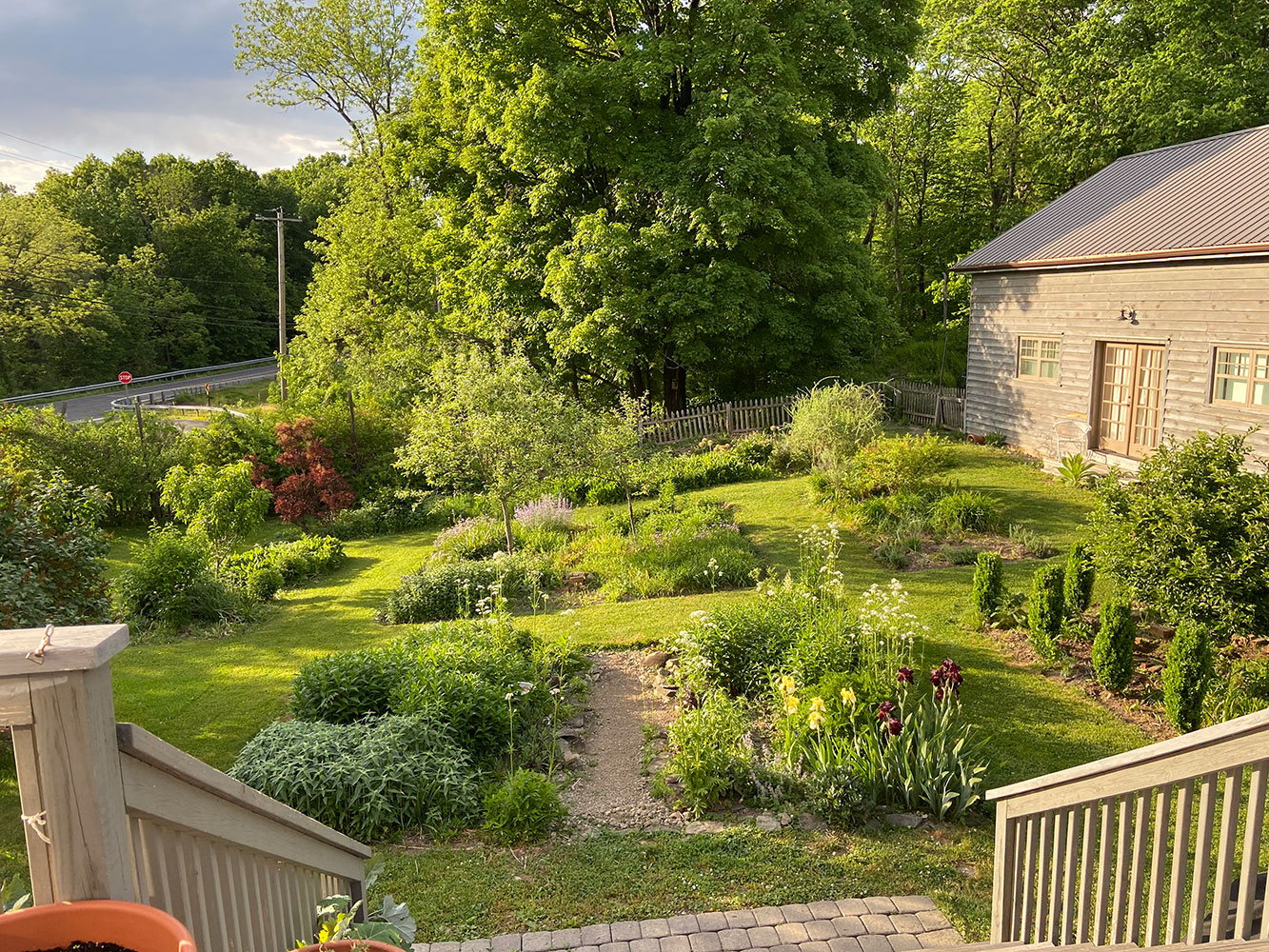 Catherine Howe studio: flower garden