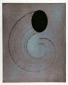 """Untitled (cornucopia)"", 2001.  Photogravure mono print with chine colle'. Image: 28"" x 22 ¼"", paper: 35"" x 29 ¼"". Edition # 14/25."
