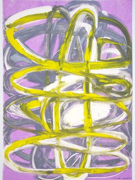 """""""Premise VIII"""", 2017. Monotype, 29 1/2"""" x 21""""."""