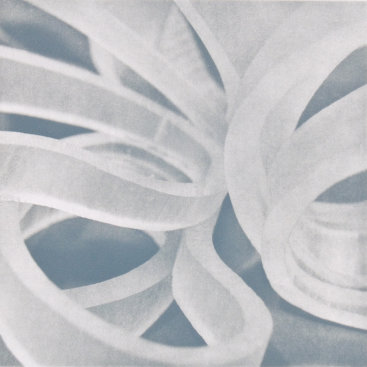 """Counterpoint 2"", 2007. Photogravure, 15"" x 15"". Edition of 10."