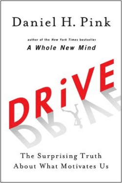 Drive by Dan Pink book cover