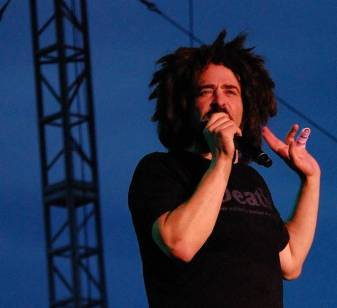 Adam Duritz on his fear of performing in public