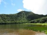the laguna at the top