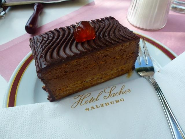 Sarah Bernhardt Schnitte glutenfrei Hotel Sacher