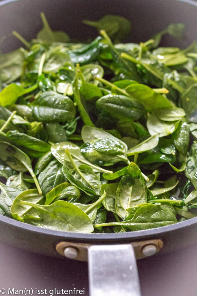 gedünsteter Spinat